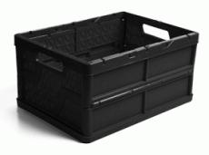 caixa dobravel fechada preta