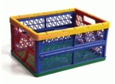 caixa dobravel vazada colorida