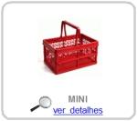 caixa dobravel vazada mini