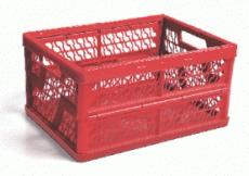 caixa dobravel vazada vermelha