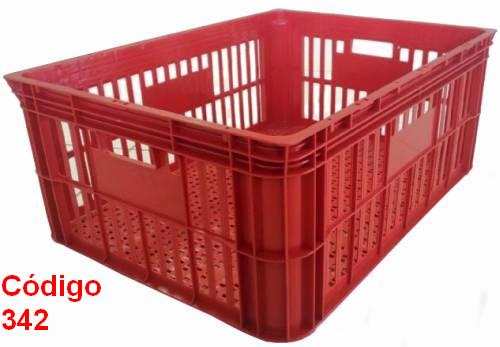 caixas plasticas vazadas 77x57x30 cm
