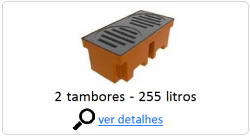 pallet de contencao 2 tambores 255 litros