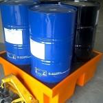 pallet de contencao 4 tambores 420 litros 3