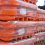 pallet de contencao para ibc armazenados