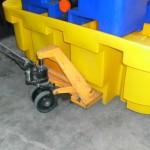 pallet de contencao para ibc carrinho paleteiro
