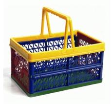 caixa dobravel com alca colorida