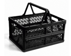 caixa dobravel com alca preta