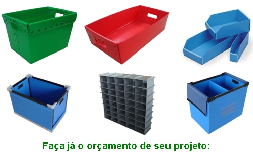 caixas plasticas sob medida