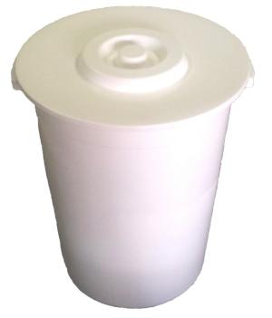 lixeira 100 litros plastica com tampa