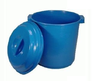 lixeira 20 litros plastica com tampa
