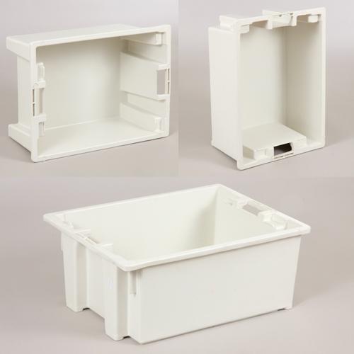 caixa plastica 1011 marfinite