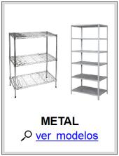 Estantes de Metal