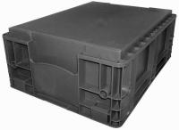 caixa plastica industrial 343 344 com fundo liso