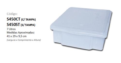 Caixa Plástica Organizadora 7 litros