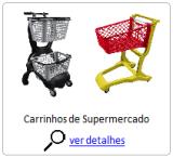 Carrinho de Supermercado em Plástico