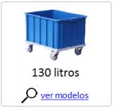 carro tartaruga 130 litros