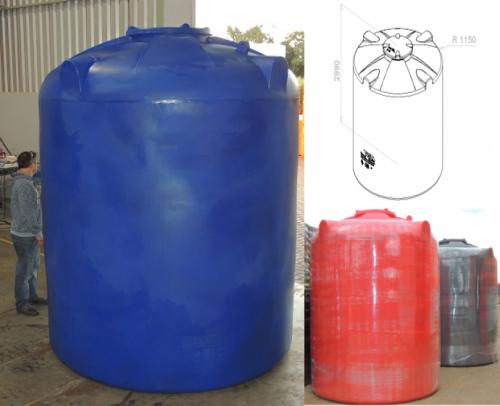 cisterna 10000 litros desenho tecnico