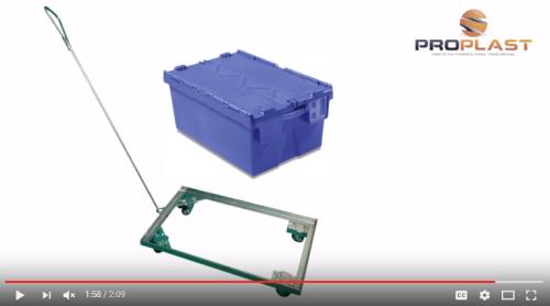 carro dolly caixas plasticas alc
